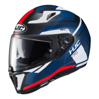 HJC i 70 Helmet Elim Matte Blue/White/Red