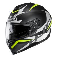 HJC C70 Helmet Troky Matte Black/Yellow