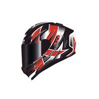 Kabuto Aeroblade 5 Helmet Hurricane Black/Red