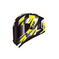 Kabuto Aeroblade 5 Helmet Hurricane Black/Fluro Yellow