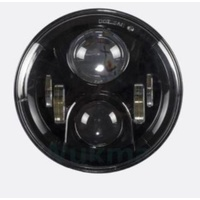 "Hoglights HOG-5570BA-HC 7"" LED Headlight Insert w/Halo Chrome for H-D/Indian Chief Classic/Dark Horse Models w/7"" Headlight"