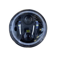 Hoglights HOG-HLAKV15 LED Headlight Insert Black for Most Kawasaki Vulcan 900/1500/1600/1700 & 2000
