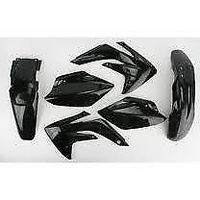 UFO HOKIT110BE001 Plastics Kit Black for Honda CRF450R 2008