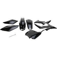 UFO HOKIT111E001 Plastics Kit Black for Honda CRF150R 07-15