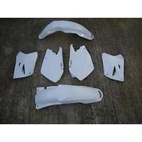 UFO CRF250R 2009 PLASTICS KIT (WHITE) - DIRT BIKE