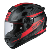 Kabuto RT33 Helmet SP1 Black/Red