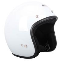 RXT Challenger Open Face Helmet White