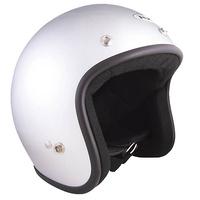 RXT Challenger Open Face Helmet Silver