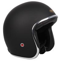 RXT A611C Classic Open Face Helmet w/No Studs Matte Black