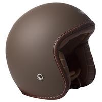 RXT A611C Classic Open Face Helmet Brown