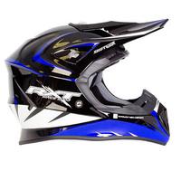 RXT 707 Edge MX Helmet Black/Blue