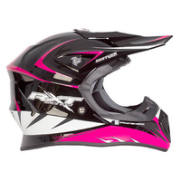 RXT 707 Edge MX Helmet Black/Pink
