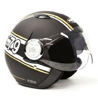 RXT X215 Striker Helmet Matte Black/White/Gold