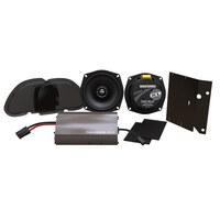 Hogtunes HT-225-RG-KIT-XL Hogtunes XL 225 Watt Amp x 2 Speaker Kit for Road Glide 98-13