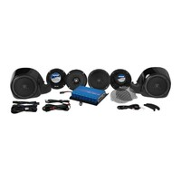 Hogtunes HT-G4-LIMITED-RM Hogtunes G4 200 Watt Amp x 6 Speaker Kit for Touring Ultra Limited 14-Up Models
