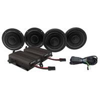Hogtunes HT-WILD-BOAR-ULTRA Wild Boar 600 Watt Amp x 4 Speaker Kit for Touring Ultra 14-Up Models