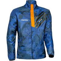 Ixon Stripe Jacket Navy Camo/Orange