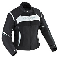 Ixon Celesta VX Textile Ladies Jacket Black/White