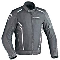 Ixon Cooler Textile Jacket Black/White