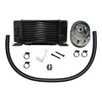 Jagg JAG-750-2300 10-Row LowMount Oil Cooler Kit for Touring 84-08