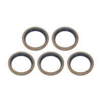 James Gaskets JGI-12022 Main Drive Gear Seal Big Twin'66-86 4 Speed & Big Twin'79-90 5 Speed 5th Gear Seal (5 Pack)