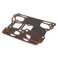 James Gaskets JGI-16719-99 Rocker Cover Base Gasket Big Twin'99up Metal With Bead (Pair)