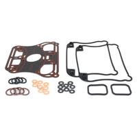 James Gaskets JGI-17030-04-X Rocker Gasket Kit XL'04-06 w/Metal Rocker Base Gaskets (Kit)