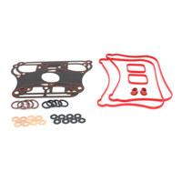 James Gaskets JGI-17030-07-X Rocker Gasket Kit XL'07up w/Metal Rocker Base Gasket (Kit)