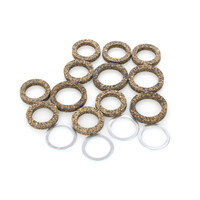 James Gaskets JGI-17955-48-FL Pushrod Tube Seal Kit Big Twin'48-79 Cork
