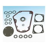 James Gaskets JGI-25225-93-KX Cam Charge Gasket Kit Big Twin'93-99 Evo Metal Core w/Bead (Kit)