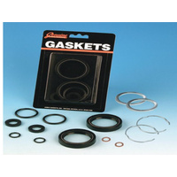 James Gaskets JGI-45849-06 Fork Seal Kit 2006-UP 49MM Tubes Dyna Models
