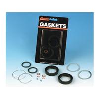 James Gaskets JGI-45849-87 Fork Tube Seal Kit for FXD'91-05/Narrow Glide '87up w/39mm/FXR'87-94/XL'87up (Kit)
