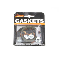 James Gaskets JGI-65324-83-KW2 Exhaust Gasket Kit Big Twin'84up Screamin' Eagle Type w/Flange Nuts (Kit)