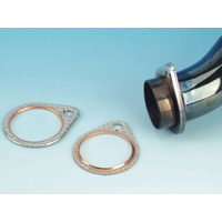 James Gaskets JGI-65834-68-SC2 Exhaust Gasket Pipe Big Twin'66-84 Steel Core w/Fire Ring (Pair)