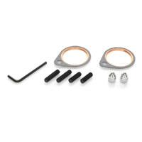 James Gaskets JGI-SE-1 Exhaust Stud Kit w/Studs, Acorn Nuts & Gaskets Big Twin'66-84 (Kit)