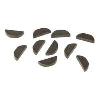 Jims Machine JM-2480K Pinion Gear Key Big Twin'54-90 & Oil Pump Drive Gear Big Twin'54-75 (Pk10)