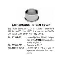 Jims Machine JM-25581-70 Cam Cover Bush Big Twin'70-99 STD