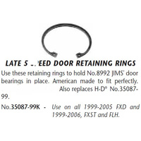 Jims Machine JM-35087-99K Transmission Trap Door Retaining Ring Big Twin'99up (Each)