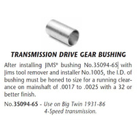 Jims Machine JM-35094-65 Transmission Main Drive Gear Bushing Big Twin'31-86 4 Speed