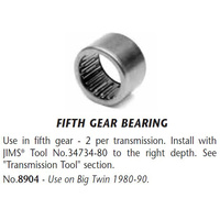 Jims Machine JM-8904 5th Gear Bearing Big Twin'80-90