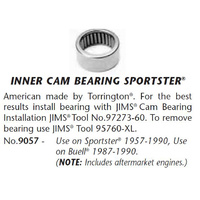 Jims Machine JM-9057 Inner Cam Bearing XL 57-90 (4 req)