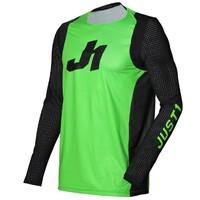Just 1 J-Flex Jersey Aria Fluro Green/Black