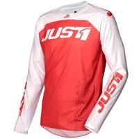 Just 1 J-Force Jersey Terra Red/White