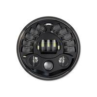 "J.W. Speaker JWS-0552341 Adaptive LED 7"" Headlight Insert Black (Inc Mount Ring)"