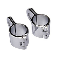"Kuryakyn K1000 Magnum Quick Clamp 1-1/4"" Chrome (Pair)"