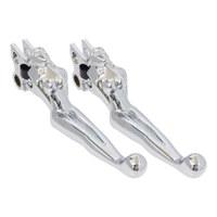 Kuryakyn K1049 Silhouette Levers Chrome Touring/Dyna/Softail (Pair)