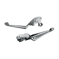 Kuryakyn K1080 Boss Blade Levers w/Adjustable Clutch Chrome (Pair)(See Listing For Fit)