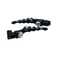 Kuryakyn K1090 Zombie Levers Black Touring/Dyna/FXR/XL/Softail (Pair)(See Listing)