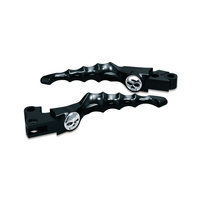 Kuryakyn K1090 Zombie Levers Black Touring/Dyna/FXR/XL/Softail (Pair)