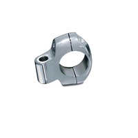 "Kuryakyn K1420 Accessory Clamp 1"" Universal Mount Chrome (Each)"
